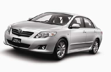 Sedan: Toyota Altis transfers from Trat Airport to Koh Chang island