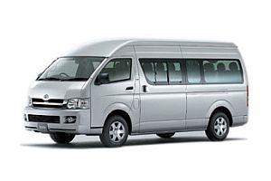 Toyota Commuter VIP van